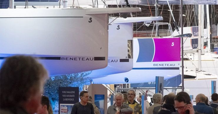 Boat show in Brussel